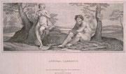 0766/ Kupferstich, 1823, Annibal Carracci, 30x24cm, Papier ist weiß - nicht rosa, EUR 15,-