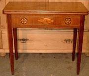 KT0032/Vierländer Spieltisch ~1820, Nussholz, EUR 800