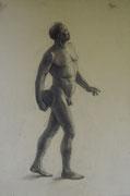2344/ Kohle, ~1910, sign. H.Kipp, 47x62cm, EUR 75,-