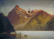 3008/ Öl/Lw., 1926, 3 Risse, sign. Claussen, 77x60cm, EUR 30,-