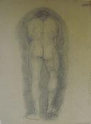 2341/ Bleistift, ~1910, H.Kipp unsign. (Zertifikat), 41x65cm, EUR 60,-