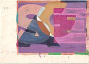 2254/ Tusche, ~1960, P.Schadwinkel unsign. (Zertifikat), Motiv 23x17cm, EUR 35,-