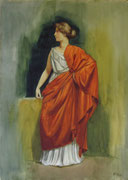 2331/ Griechin, ~1910,  sign. H. Kipp, 47x62cm, EUR 120,-