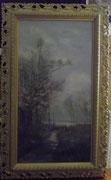 3215/ Öl/Lw., 1899, monogr. C.L., Rahmen 41x68cm, EUR 150,-