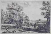 3144/ Holzstich aus alter Bibel, Rahmen 42x34cm, EUR 35,-