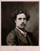 0769/ Radierung,~1900, Mariano Fortuny, Didier/Salmon, 30x42cm, stockfleckig, EUR 15,-