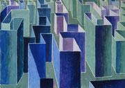 2379/ Labyrinth, ~1960, L.Axelsen unsigniert, Din A2, EUR 25,-