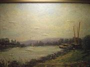 3269/ Öl/Holz, ~1900, sign. Masson, Rahmen 52x43cm, EUR 700,-