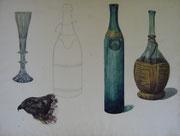 2324/ Studien, ~1905,  H. Kipp unsign. (Zertifikat), 68x51cm, EUR 50,-
