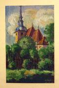 1119/Kreide, 1914, sign. M.Haupt, Motiv 26x16cm, EUR 35,-