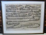 2549/ Stich, ~1865, Festzug zur Gedächtnisfeier der 50jährigen Erhebung Hamburgs (gegen Napoleon), unsigniert, Rahmen 80x63cm, EUR 120,-