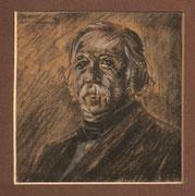 2209/ Kohle-Kreide, 1976, sign. M.Lusermann, Motiv 12x13cm, EUR 20,-