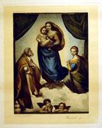 1182/ Farbdruck nach Raphael, 1904, 45x36cm, EUR 18,-