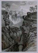 0691/ Stahlstich, ~1900, Sorrent/Italien, 20x30cm, EUR 15,-