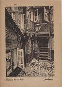 0149/ Radierung, ~1900, Hamburg, unsign. , Din A4, EUR 20,-