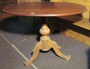 KT0147K/ Tisch ~1820, Nussholz/Buche, EUR 420,-