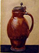 1186/ Stilleben, ~1900, H. Kipp unsign. (Zertifikat), 25x19cm, EUR 60,-