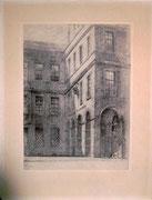 0702/ Litho, ~1929, im Stein unleserl. signiert,31x40cm, Papier ist weiß - nicht rosa,EUR 15,-