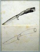 2300/ Bleistift, ~1970, P.Schadwinkel unsign. (Zertifikat), Motiv 19x25cm, EUR 20,-