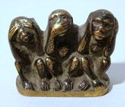 3968/ Bronze ~ 1930, H 4,5, L 6,5cm, EUR 58,-