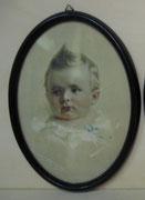 1912/ Druck im ovalen Rahmen, ~1900, 20x26cm, EUR 35,-