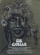2473/ Plakatskizze auf Folie, 1975, P.Schadwinkel unsign. (Zertifikat), Motiv 23x31cm, EUR 50,-