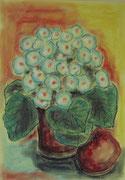 2186/ Blumen, ~1990, L.Peltz unsign. (Zertifikat), Din A3, EUR 75,-
