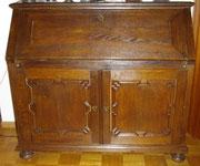 KT0287K/ Sekretär ~ 1890, Eiche, EUR 1200,-