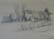 2201/Bleistift, ~1940, sign. Peselaen, 32x24cm, EUR 35,-