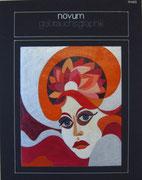 2362/ Acryl, Kunstzeitschrift-Entwurf, Schadwinkel, unsign. (Zertifikat), 23x30cm, EUR 180,-