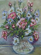 2469/ Blumen, 1961, P.Schadwinkel unsigniert (Zertifikat), 28x38cm, 40,-