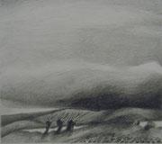 2282/ Bleistift, ~1965,  Peter Schadwinkel unsign. (Zertifikat), Motiv 22x20cm, EUR 20,-