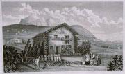 0688/ Stahlstich, ~1900, Zwinglis Haus/Schweiz, 30x20cm, EUR 15,-