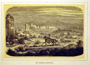 1153/ Druck aus Kunstbuch, ~1900, Röm. Campagna, C.Zimmermann X.A., Blatt 20x26cm, Stockflecken, EUR 15,-
