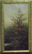 3216/ Öl/Lw., 1899, monogr. C.L., Rahmen 37x64cm, EUR 150,-