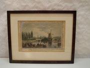 4042/ Kupferstich, 1852, Hamburg, Jessen/Gray, Rahmen 23x29cm, EUR 140,-