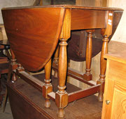 KT0184/ Gateleg Table ~1920, Eiche, EUR 400,-