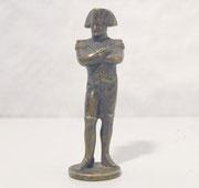 3722/ Bronze Napoleon ~1820, brüniert, H 7cm, Eur 110,-