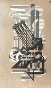 2252/ Tusche, ~1965, sign. Sch., 18x32cm, EUR 35,-