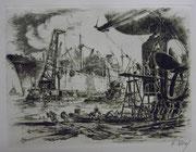 3201/ Radierung, 1960, sign. Karl Horch, 54x39cm, EUR 40,-