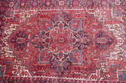 Tappeto Tabriz carpet Udine, tappeto persiano grande Heriz inizio 900 persiano