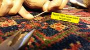 Restauro tappeti Udine, tappeti tabriz carpet Udine, riparazione tappeti