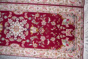tappeti tabriz carpet udine- corsia tabriz lana misto seta extra fine 60 raj