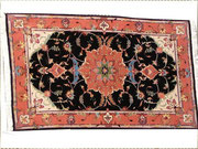 tappeti tabriz carpet udine, tappeto tabriz 60 fondo nero lana seta