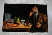 tappeti udine,Tabriz 60 raj quadro ghahvekhane