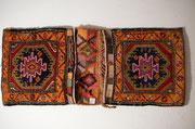 khurjin (sella) vecchio, tappeti tabriz carpet udine