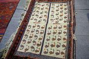 tappeti tabriz carpet udine- tappeto sotto sella di cavallo antico