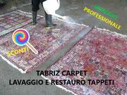 sconto lavaggio tappeti persiani Udine