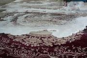 Pulizia tappeti trieste-Lavaggio tradizionale a mano tappeti persiani Trieste