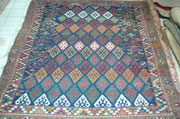 tappeto antico famoso sanjabi